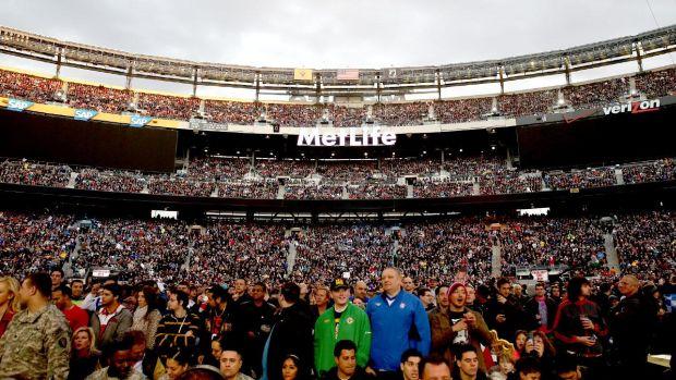 El MetLife Stadium contó con 80.676 espectadores  en el último Wrestlemania.