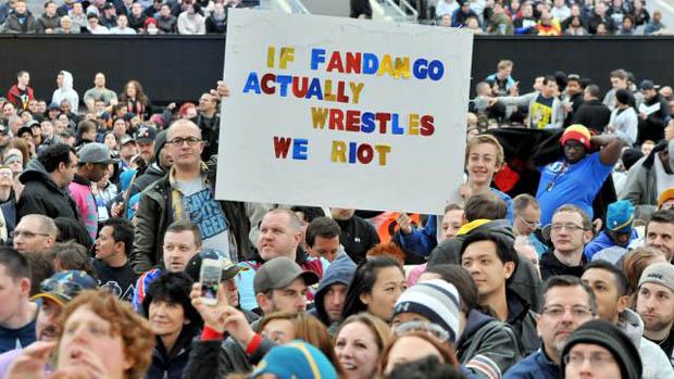 Cartel en Wrestlemania.