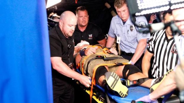 La lucha entre Cena y Ryback quedò con resultado incierto. Galería de fotos pinchando aquí.