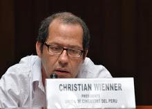 Fue valiosa la participación de Christian Wiener desde el público.