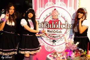 Madolche: un maid café con mangas y videojuegos