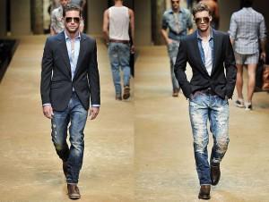 Blazer: ellos tienen su estilo
