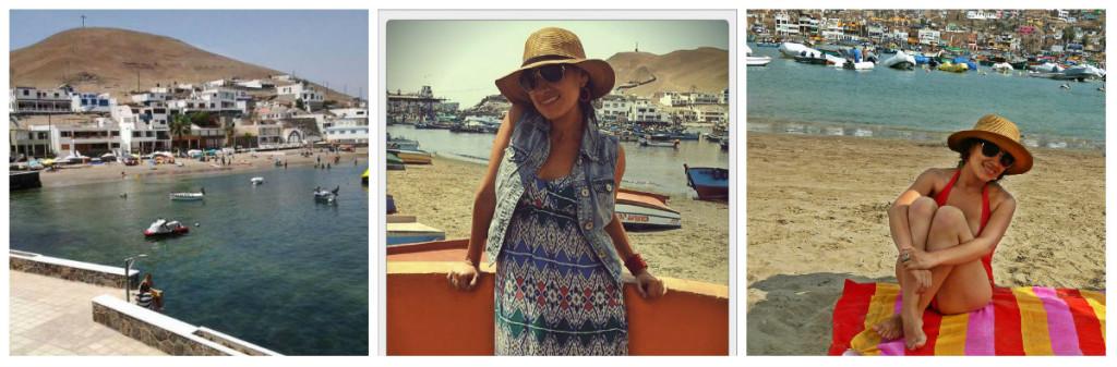 Maxi dress para la playa